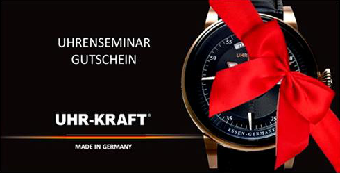 Bild Uhrenseminar-Gutschein